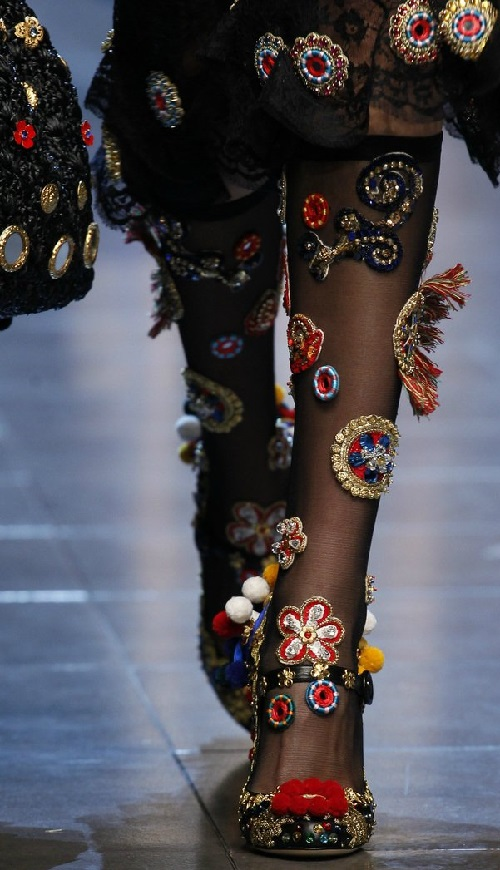 Dolce & Gabbana Winter Spring 2016 accessories