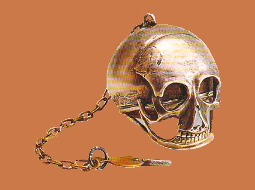 Francois Bordeaux. Watch 'Skull'. Geneva. 1700-1722. The State Museum-Reserve Peterhof. Russia