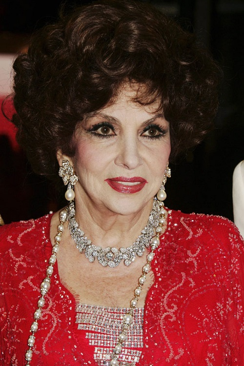 Gina Lollobrigida in 2013 Jewellery collection at auction