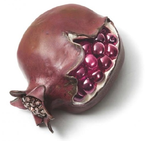 Hemmerle brooch Pomegranate from the series 'Delicious Jewels'