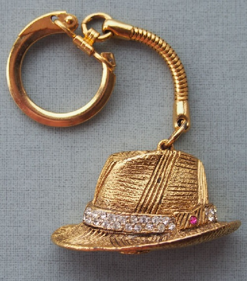Keyring Higgins' Hat of My Fair Lady collection