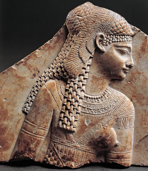 One of the portraits of Queen Cleopatra VII
