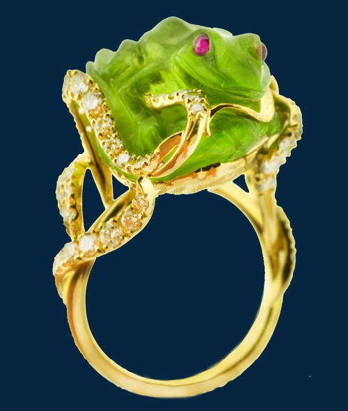 Frog inspired jewellery, Studio Finix-M