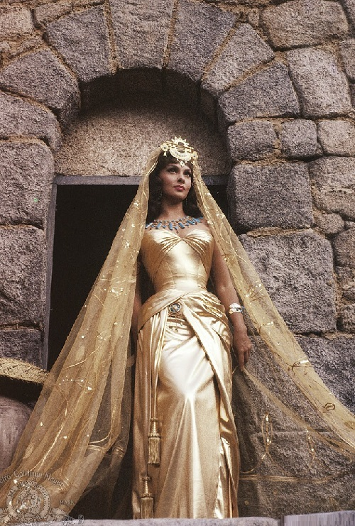 Gina Lollobrigida in Solomon and Sheba, 1959