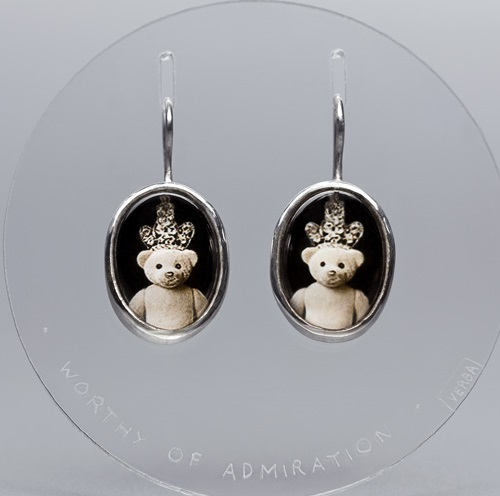 Teddy bear earrings - worthy of admiration