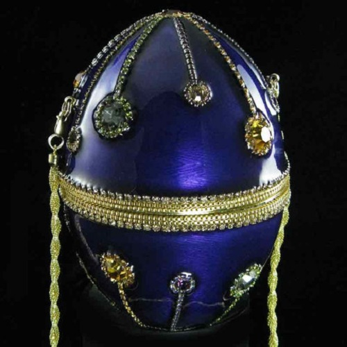 Vivian Alexander blue Egg Purse