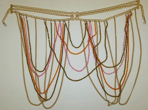 Body jewellery - skirt by Cadoro Jewels Corp. (American, 1954–1987), metal, 1969. The Metropolitan Museum of Art