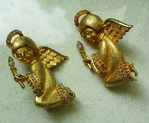 Angels. Brooch by Ultra