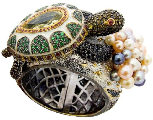 Butler & Wilson turtle ring