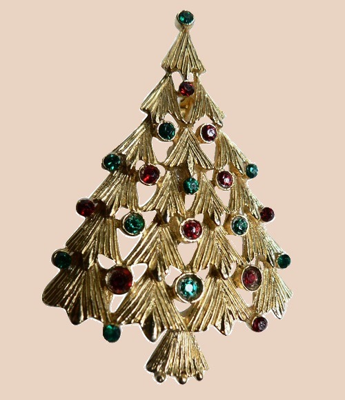 Christmas Tree. Ultra Craft costume jewellery