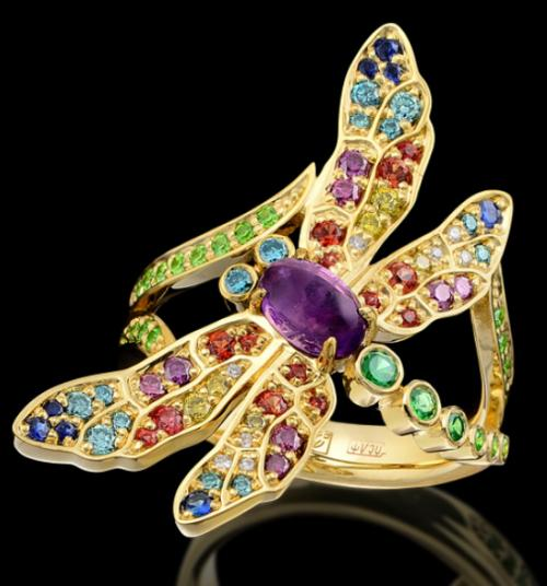 Dragonfly ring. Master Exclusive Jewelry House, Russia
