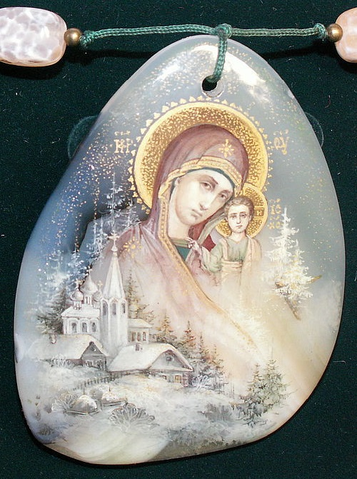 Holy Russia. pendant
