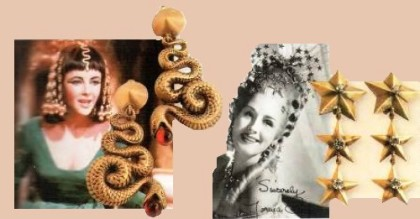 Hollywood divas that shone in jewelry creations by Joseph of Hollywood