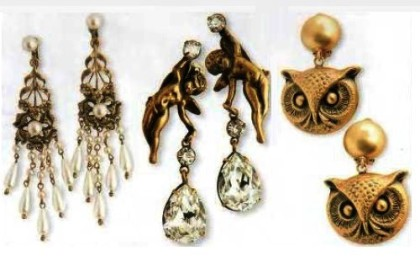 Exquisite earrings created for Hollywood divas of 1940s. Joseph of Hollywood jewellery