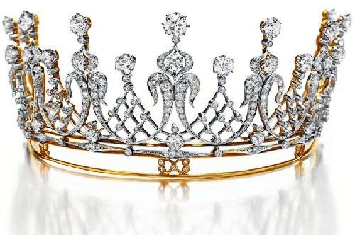 Mike Todd Vintage diamond tiara