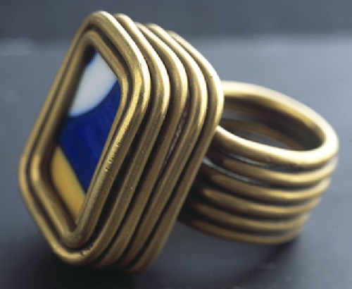 Ring created in 1930. Gift to a friend, the painter Joan Miro