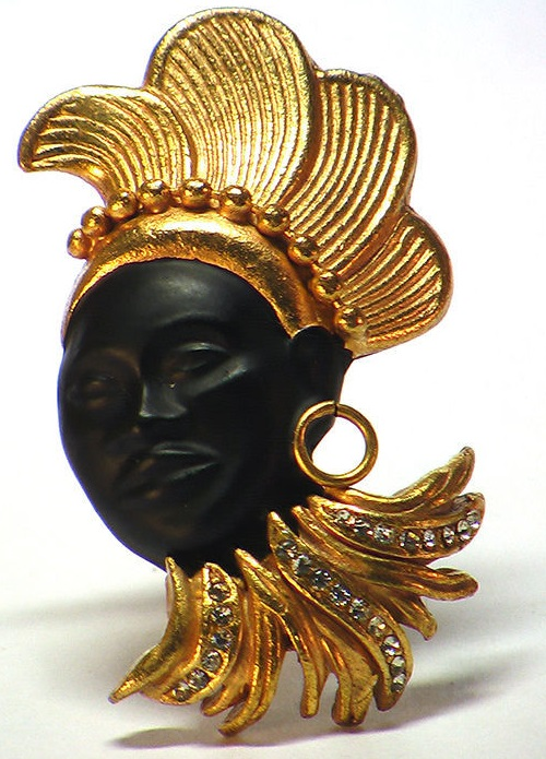 African Princess Brooch, Askew London