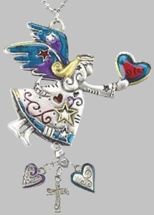 Angel Color Car Charm
