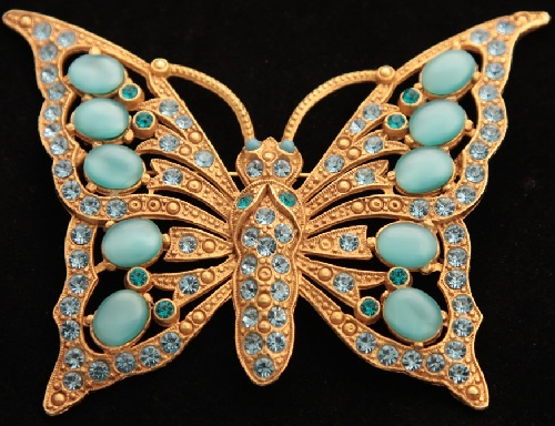Askew London brooch Butterfly