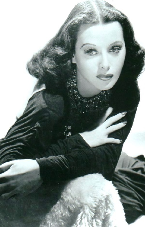Beautiful actress Hedy Lamarr