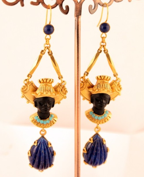 Blackamoor earrings by Askew London