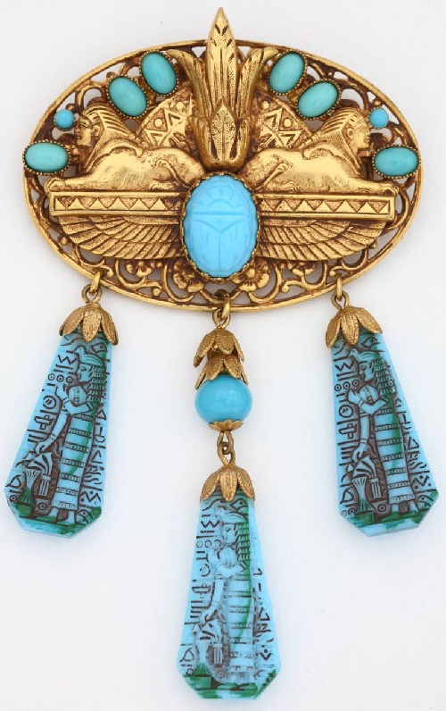 Brooch Askew London from the famous Egyptian collection
