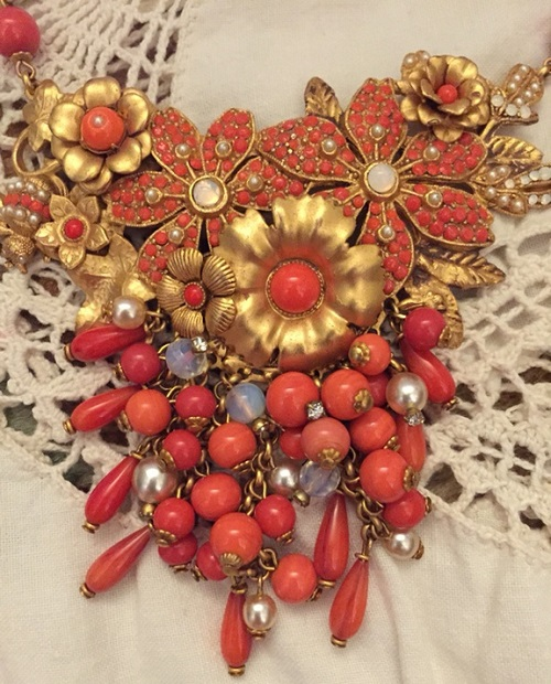 Coral Necklace, Askew London