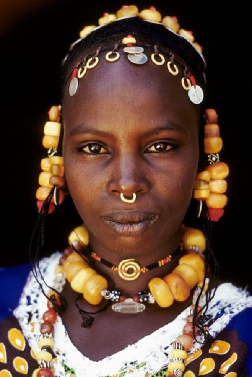 Fulani women love amber, considering it a stone that brings health, happiness, and love amulet
