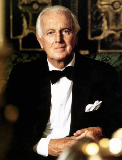 Hubert de Givenchy (born 21 February 1927), French fashion designer