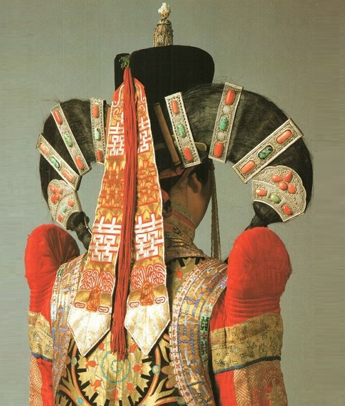 Halh married woman's outfit Late 19th-early 20th Century Mongolia