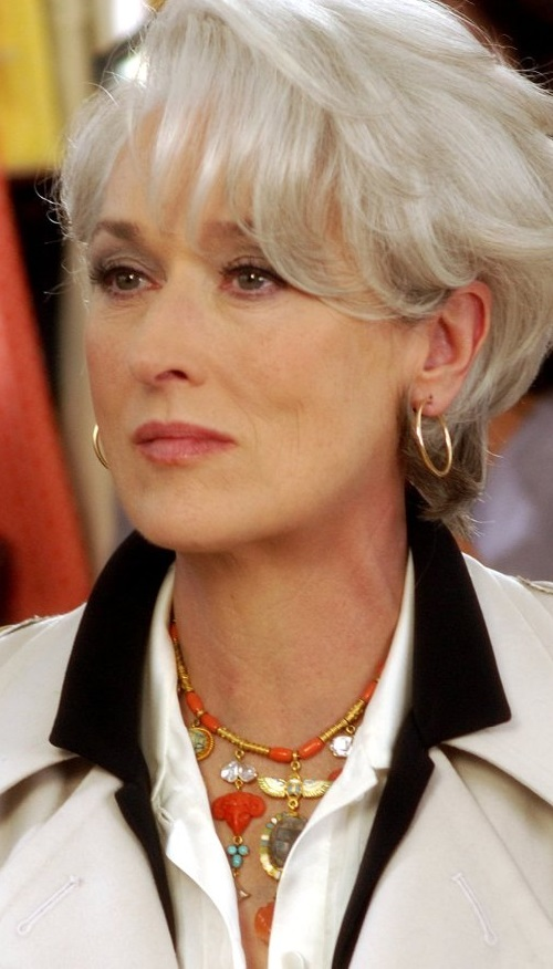 Jewellery celebrities wear. The Devil Wears Prada, 2006