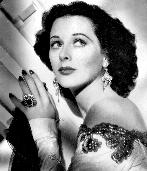 True jewellery lover Hedy Lamarr