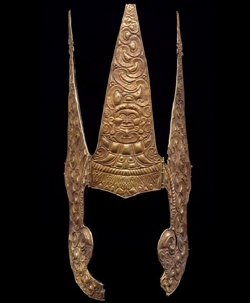 Indonesian Moluccas gold crown, 15th - 17th century