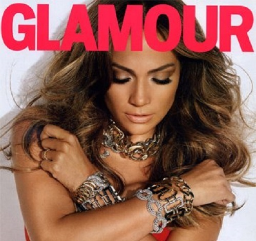 Jennifer Lopez Featuring diamond, platinum and gold 'Double-Crescent' bracelet and yellow gold 'Curb-Link' bracelet