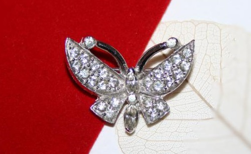 Jomaz brooch Butterfly