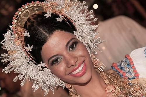 Traditional headwear of Panamanian women