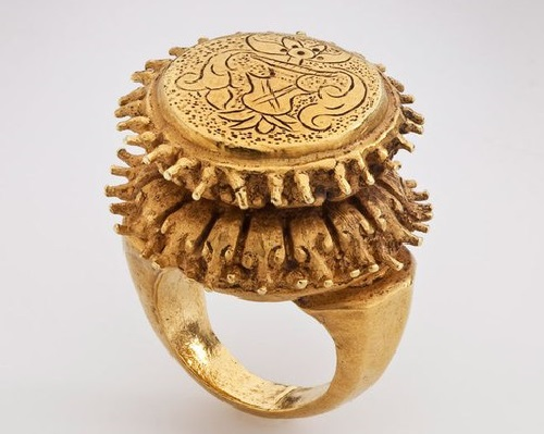 Lotus Ring. Java, Indonesian. 8th – early 10th century