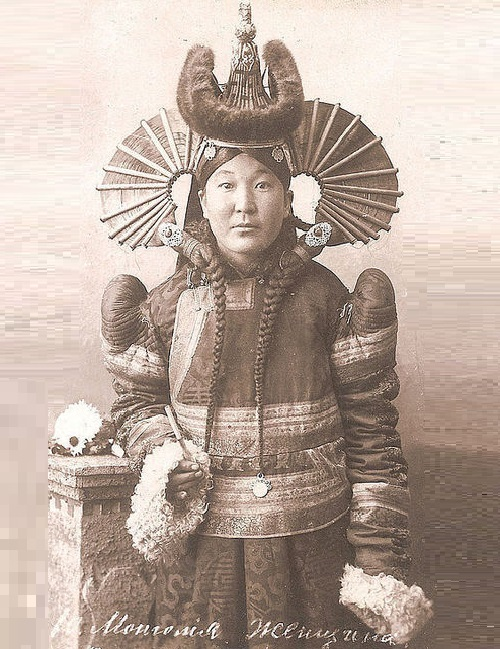 Mongolian woman, 1905 photo