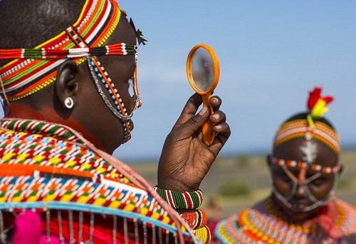Passion for beaded jewelry in the tribes of North Kenya