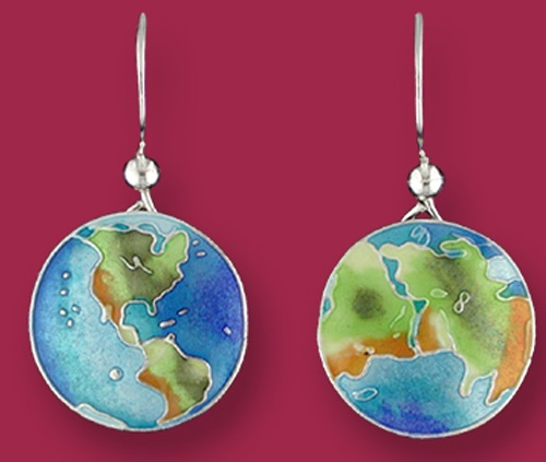 The World earrings