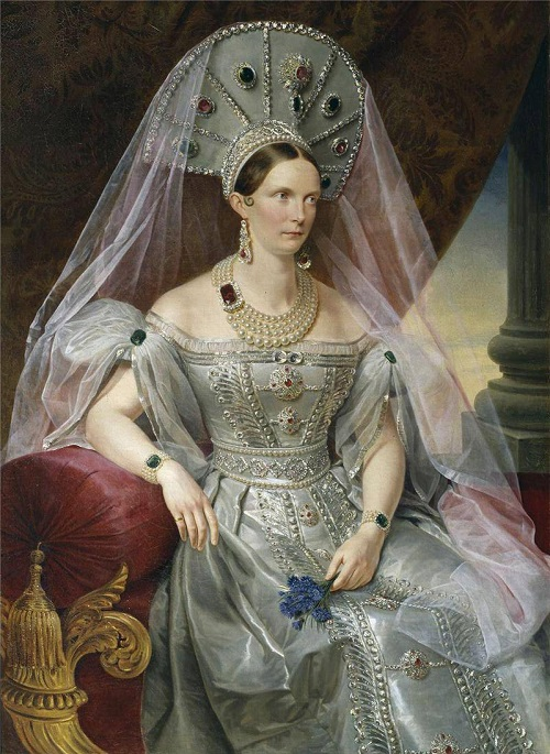 The wife of Nicholas I - Alexandra Fyodorovna (1798-1860)
