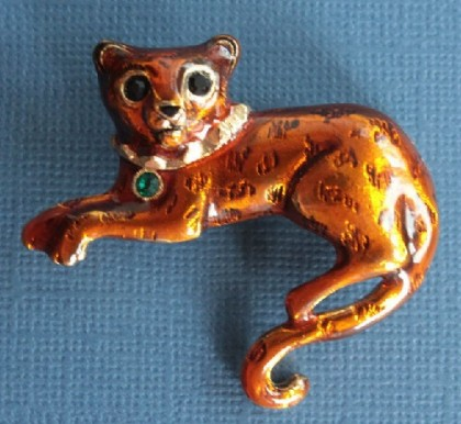 Cats in mythology and jewellery