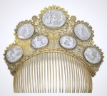 Comb and Hair symbolic jewellery