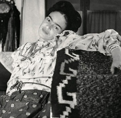 Bracelets, beads, necklaces, earrings and of course, rings – this is Frida