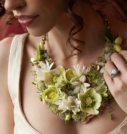 Passion for Flower jewellery, necklace