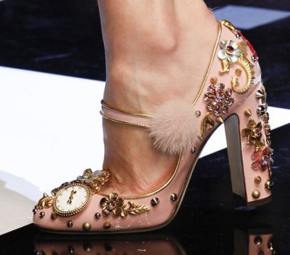 Clock - nice detail on your shoes