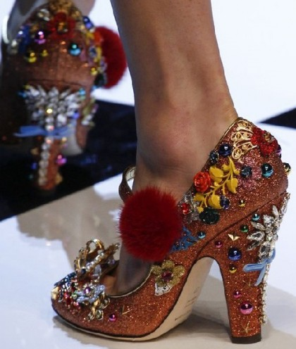 Red shoes and unlimited fantasy