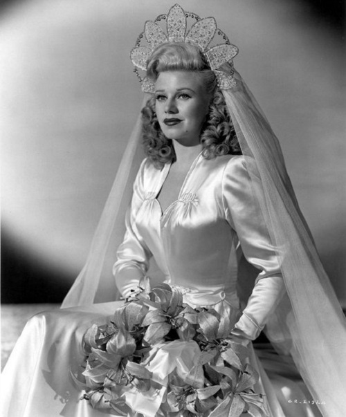 Jewellery lover Ginger Rogers