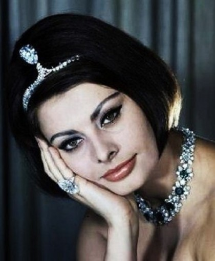 Incomparable, jewelry lover Sophia Loren