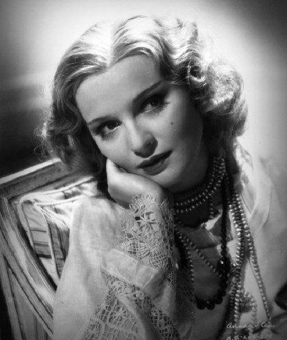 Vintage Hollywood actress Anna Sten